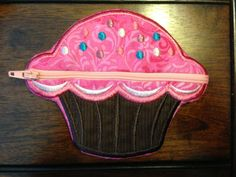 Cute Cupcake Coin Purse  by HooksandAnchors on Etsy, $17.00