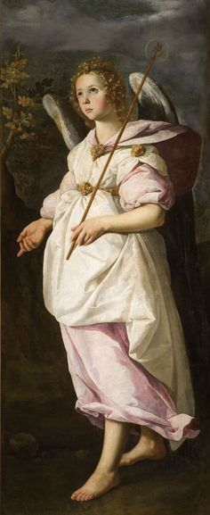 Francisco de Zurbarán Saint Gabriel the Archangel ca. 1631-1632 Oil in canvas, 146.5 x 61.5 cm Inv. 852.1.2 Montpellier, Musée Fabre