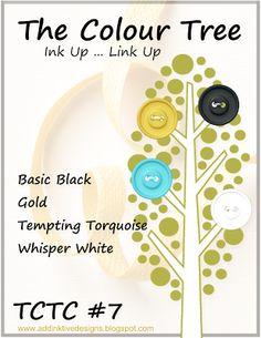 addINKtive designs: The Colour Tree Challenge #7