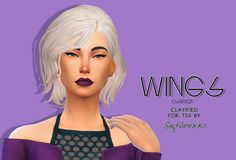 Slythersim: Wingssims OS0321 Clayified  - Sims 4 Hairs - http://sims4hairs.com/slythersim-wingssims-os0321-clayified/