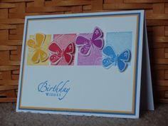 butterfly birthday by PH in VA - Cards and Paper Crafts at Splitcoaststampers