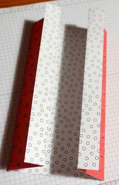 Tuto carte origami