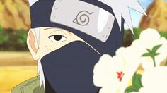 Kakashi's eye smiling- thanking gai for his constant support and telling him that he'll always be counting on him.