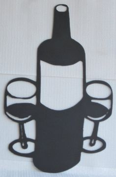Wine Setting Wine Metal Wall Art Sign by TheSheetMetalKid on Etsy, $60.00