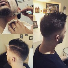 Most man today walk around not knowing have horrible #shaves and #haircut Electric razors and the lastest 5 blade contraptions irritate the skin more than needed, leaving razor burn, ingrown hairs, and redness.  Shaving with a #professional #barber will eliminate the problems 💈🇲🇨💈 #ericzemmourmonacoII Tel. +37793303431  #barbershop #montecarlo #man #man #shave #barbershopconnect #barberlife #barberworld #model