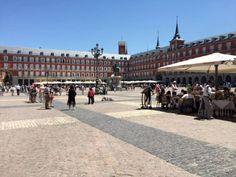 Plaza Mayor - Madrid - Spain