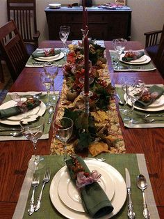 Traditional Thanksgiving Napkin Rings
