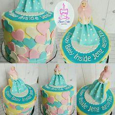 Pregnancy Cake Pregnant Cake, Baby Inside, Sweet Cakes, Fondant, Pregnancy, Desserts, Food, Tailgate Desserts, Fondant Icing