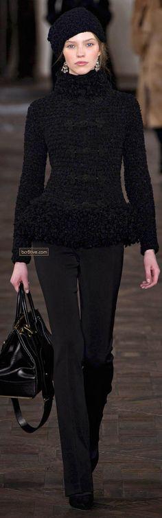 Ralph Lauren Fall Winter 2013 New York Fashion Week