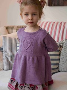 Sofie Tunic from Aran & Nordic Knits for Kids by Martin Storey contains 25 designs for babies and young children. This Scandinavian inspired collection of designs has a range of delightful projects which include both traditional patterns and some with a contemporary twist. | English Yarns