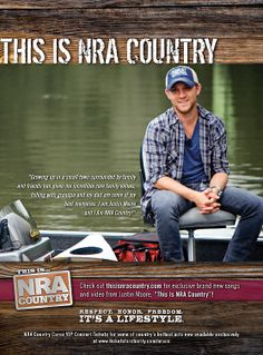 NRA Country artist Justin Moore