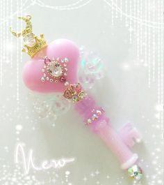 MagicalPrincess〜魔法の鍵*ふんわりピンクオーバル