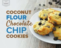 Chewy Coconut Flour Chocolate Chip Cookies >> This would be great if you plan to eat Whole30-style after your strict 30 days. :D