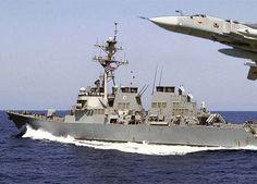 ¿Qué es lo que espantó al buque de guerra estadounidense en el Mar Negro?
