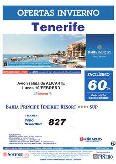 Tenerife, 60% Bahia Principe Tenerife Resort, salida 10 Febrero desde Alicante ultimo minuto - http://zocotours.com/tenerife-60-bahia-principe-tenerife-resort-salida-10-febrero-desde-alicante-ultimo-minuto/