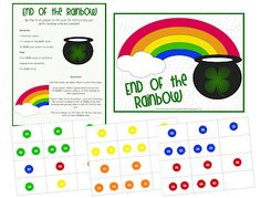 Rainbow M&M Game -  Pinned by @PediaStaff – Please Visit ht.ly/63sNt for all our pediatric therapy pins