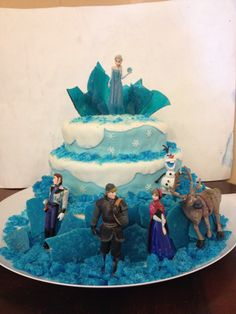 My second 'Frozen' cake