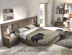 Dormitorios Modernos Lanmobel - Composición 07 Cabecero Tango - Catálogo Muse - Mobiliarium