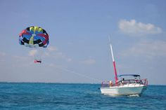 Cancun Parasailing Adventure- usually found right on the beach