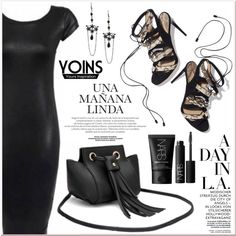 A fashion look from March 2016 by lucky-1990 featuring NARS Cosmetics, Paul Andrew and yoins