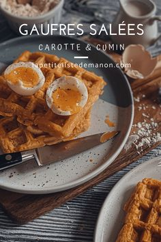 Marre des avocado toasts ? Voici une recette de gaufres à la carottes Girl Cooking, French Food, Waffles, Cereal, Healthy Lifestyle, Lunch, French Girls, Voici, Breakfast