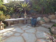 Wonderful Decomposed Granite decorating ideas for Patio Mediterranean design ideas with Wonderful fountain fountain pot