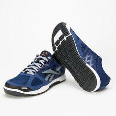 Again Faster - Equipment for CrossFit - Reebok Nano 2.0 Club Blue/Flat Grey (Men's)