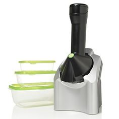 Yonanas Frozen Treat Maker with Storage Containers at HSN.com.