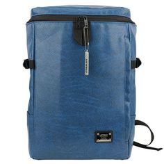 Blue Laptop Backpack for College Mens Book Bags LEFTFIELD 600 | chanchanbag.com | Design makes you feel satisfied Blue Laptop Backpack.
