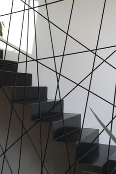 Garde-corps design pour escalier Plus