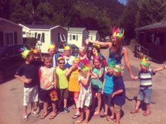 Verjaardag feestje vieren op camping Capalan in Frankrijk
