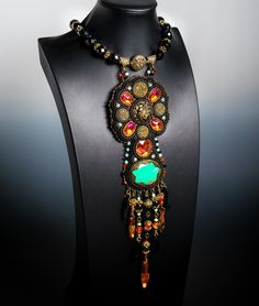 Awarded Honorable Mention: Laura, Bohemian style necklace by DOD Family Member GUZIALIA REED #ArmyMWR