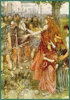 Boadicea, 'Warrior Queen' of the British Iceni tribe, a Celtic tribe who led an uprising against the occupying forces of the Roman Empire, around A. Queen Boudica, Iceni Tribe, Celtic Warriors, Female Warriors, Celtic Druids, Celtic Nations, History Of England, Celtic Mythology, Warrior Queen