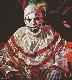 Evil Clowns, American Horror Story, Horror Stories, Joker, Funny, Fictional Characters, Art, Art Background, American Horror Stories