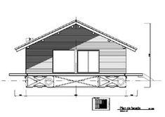 projet de maison pour zones inondable, conçu par le groupe finot