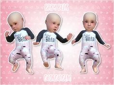"""georgiaglm: """" ⏩ Baby bear pink ⏪ ⏩ Here is a recolour of my baby bear outfit in pink for your Sims 4 infants. ⏩ This is a default replacement outfit and I've included one for each gender and skin colour. ⏩ I have used Chisami's baby skins and some. Sims 4 Toddler Clothes, Sims 4 Cc Kids Clothing, Sims 4 Mods Clothes, The Sims 4 Skin, The Sims 2, Sims Cc, Die Sims 4 Pc, The Sims 4 Bebes, Sims 4 Cas Mods"""
