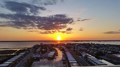 A glorious end to a beautiful spring day in Ocean City. Photo from the north end of town by Robin Zimmerman