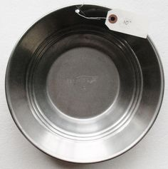 """Small 10"""" Metal Steel Gold Pan Panning Mining Prospecting Camping Outdoors 10-10 #estwing"""