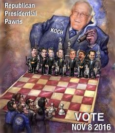 ONE BILLION DOLLARS TO TRY TO BUY THE ELECTION. Vote Bernie Sanders & show the world we cannot be bought in America any longer.