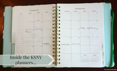 Inside the Kate Spade NY Planner