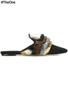 Shop Sanayi 313 'Cascata' slippers  in Stefania Mode from the world's best independent boutiques at farfetch.com. Shop 400 boutiques at one address.