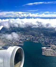 Incredible view of Wellington City Most Beautiful Pictures, Beautiful Places, Wellington City, New Zealand North, Kiwiana, Homeland, Amazing, Awesome, Airplane View
