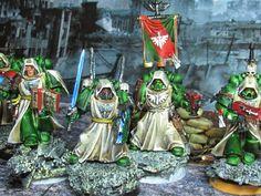 crusade against great beasts: Dark Angels Veterans update.
