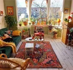 Dream Home Design, Decor Interior Design, Interior Decorating, House Design, Home Living Room, Living Spaces, Aesthetic Room Decor, Retro Home Decor, Dream Rooms