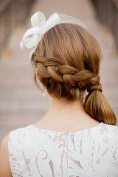 vintage hairstyles #prom