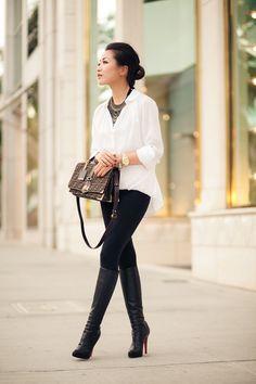 Skinny + Blusa