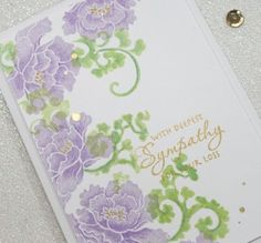 A Happy Scramper: Cards - Sympathy