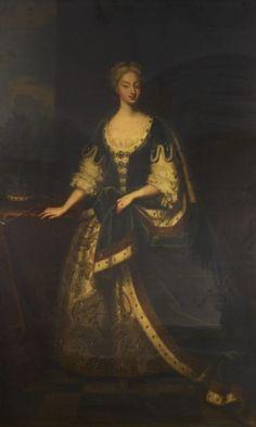 Enoch Seeman (c. 1694-1745)  Caroline of Ansbach (1683-1737)  1730-39 Oil on canvas | RCIN 406760