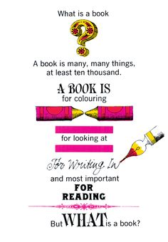"""Happy World Book Day! From """"Books!"""" illustrated and designed by John Alcorn"""