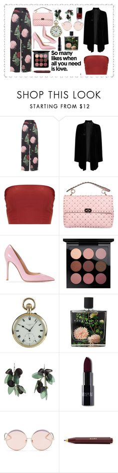 """""""All you need is love🏵"""" by giusynole on Polyvore featuring Voodoo Vixen, Eileen Fisher, Valentino, MAC Cosmetics, Nest Fragrances, Marni, N°21 and Chanel"""